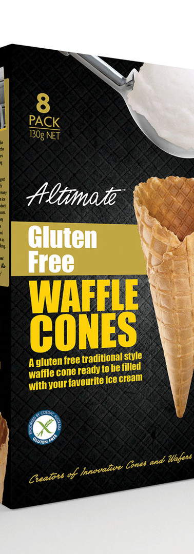Gluten Free Waffle Pack 8