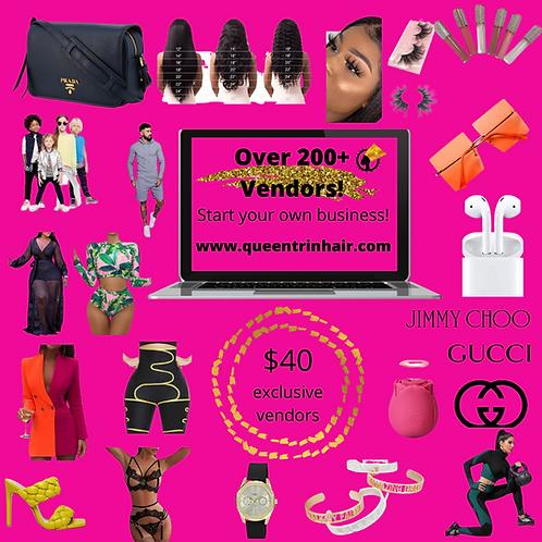 QueenTrin LLC Vendor list