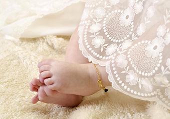 Bebé en el bautismo ropa