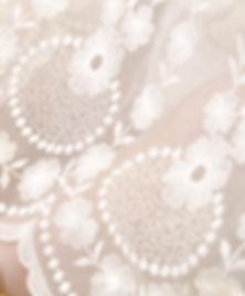 Delicate and fine lac garment