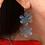 Thumbnail: Pendiente flor doble 3D