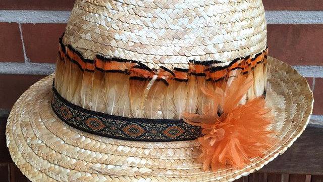 sombrero fedora verano