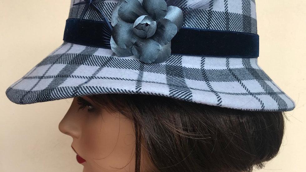 Sombrero cuadros