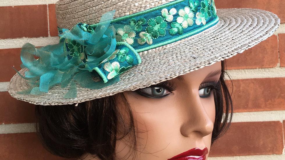 Sombrero-canotier