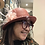 Thumbnail: Sombrero Cloché paja fina marrón