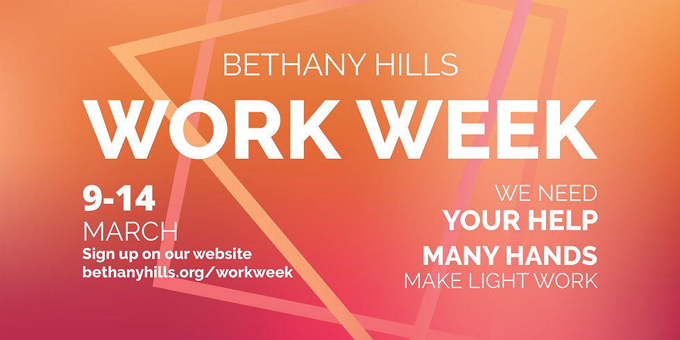 Work Week at Bethany Hills