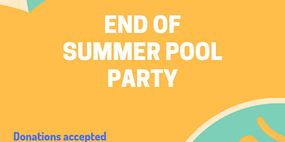 End of Summer Pool Party