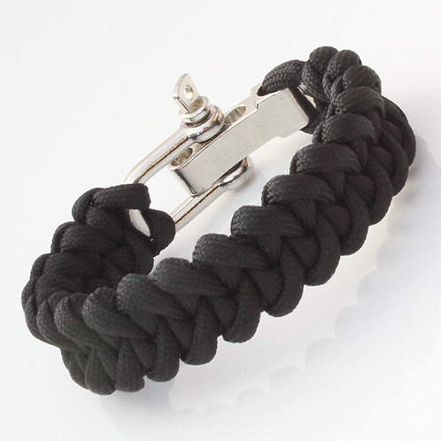 Black Survival Bracelet
