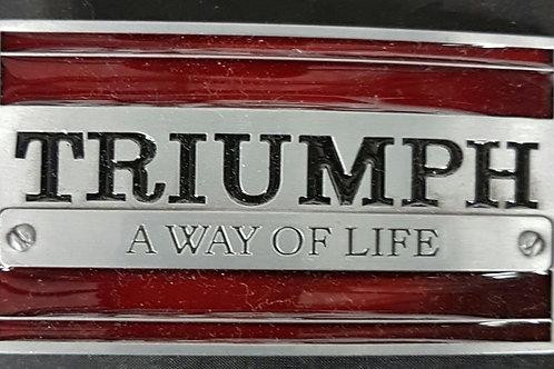 Triumph Belt Buckle