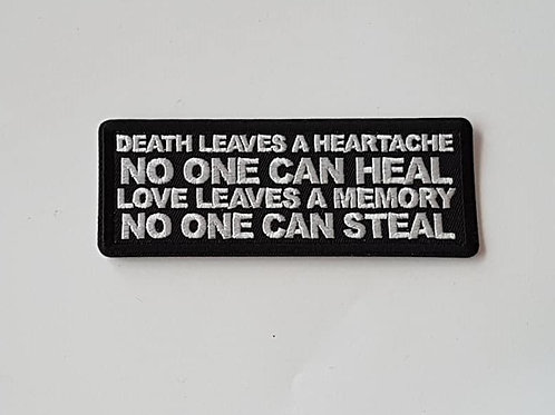 Death Leaves A Heartache..