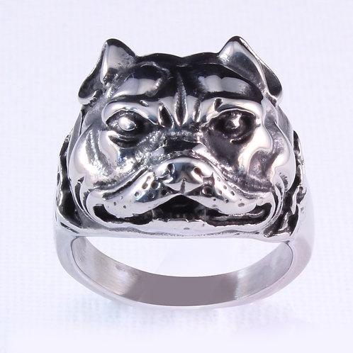 Bull Dog Biker Ring