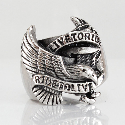 'Live to Ride' Ring