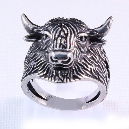 Bull Biker Ring