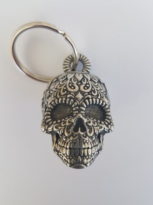 Candy Skull Guardian Bell