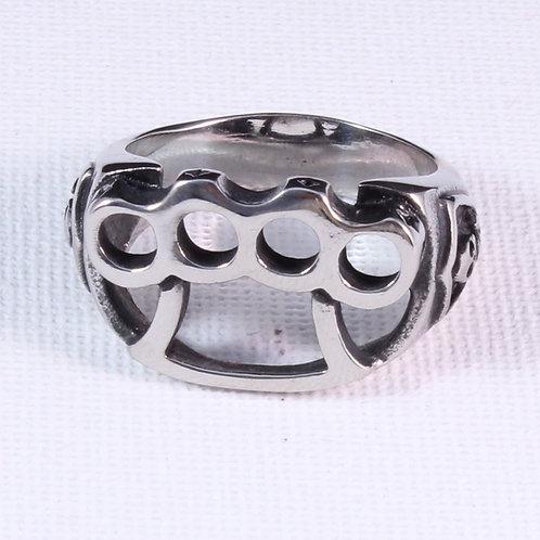 Knuckle Duster Design Biker Ring