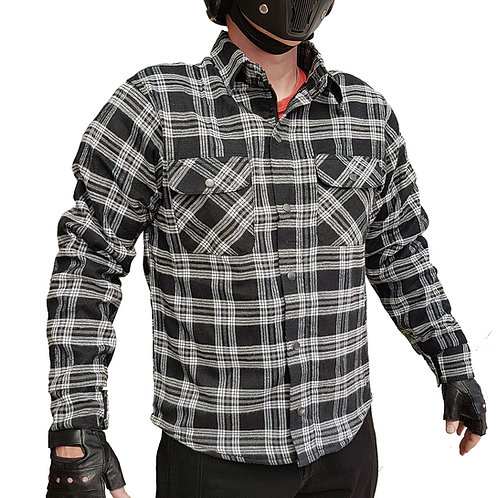 Biker Flannel Shirt