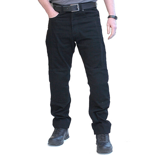 Mens Armoured Denim Biker Jeans