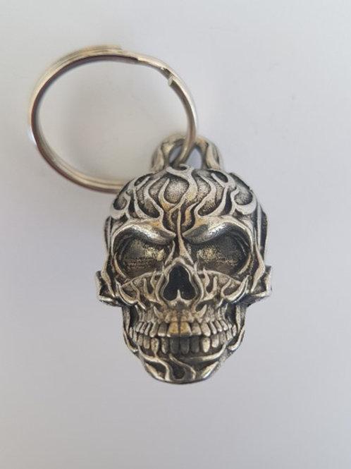 Flame Skull Guardian Bell