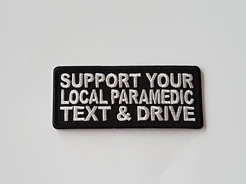 Support Your Local Paramedic