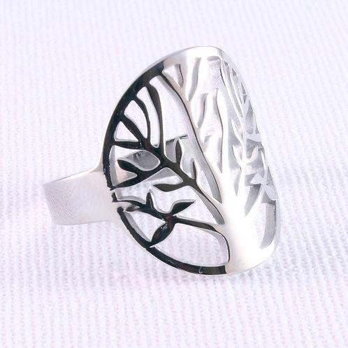 Tree Of Life Biker Ring