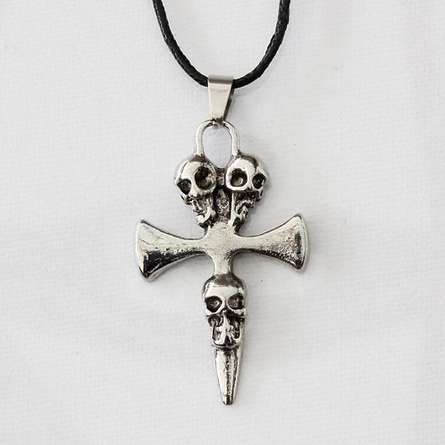 Skull and Cross Pendant