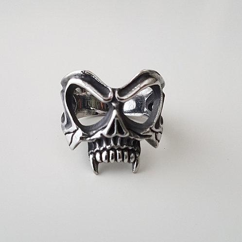 Skull Stainless Steel Biker Ring