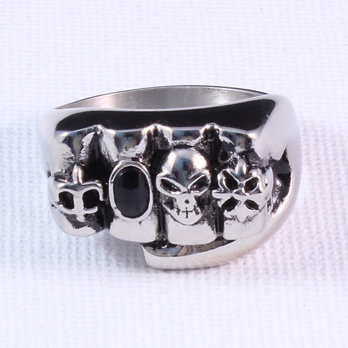 Fistful of Rings Biker Ring