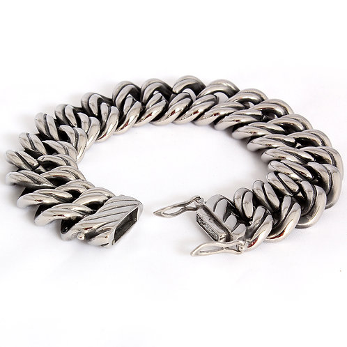 Chunky Biker Bracelet