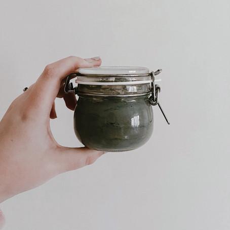 Recipe: Vegan Charcoal Healing Clay Face Mask