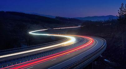 Lighted Highway Photo