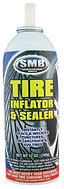 SMB Tire Inflator & Sealer with Cone Top