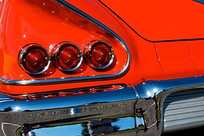 Red Corvette Photo