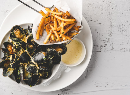 Moules et Frites: Mussels and Fries Recipe