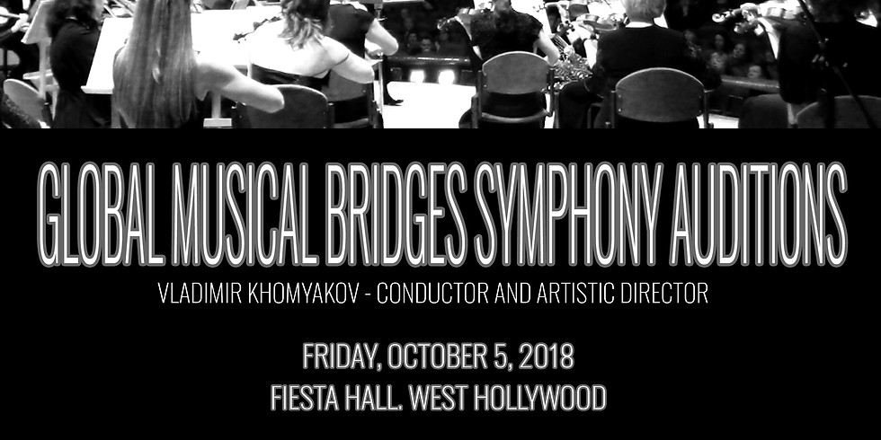 SYMPHONY ORCHESTRA AUDITIONS