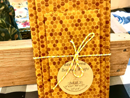 Bee-hind the Scenes: Beeswax Food Wraps!