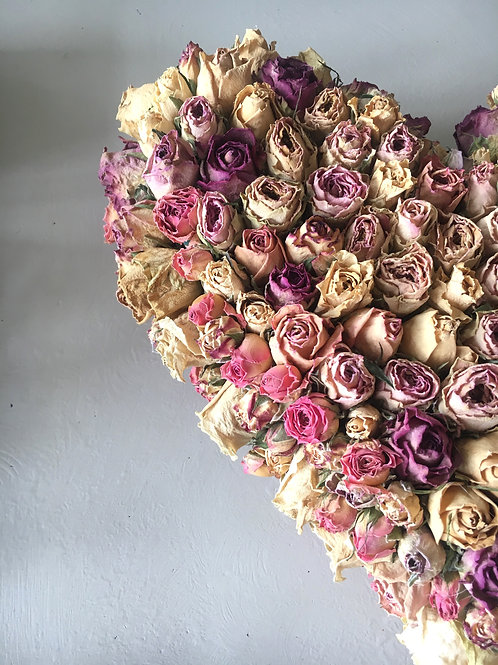 Large Rose Heart
