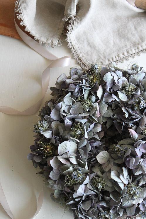 Blue Hydrangea and Nigella Bloomer