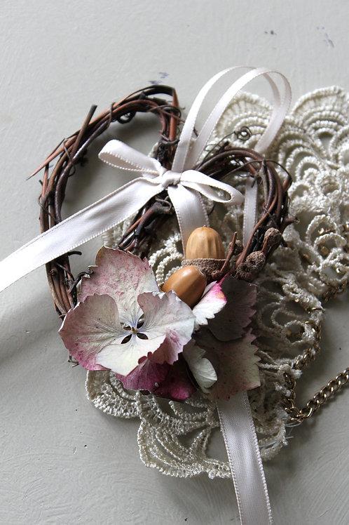 Miniature Heart Wreath