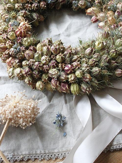 Love-in-a-mist Wreath