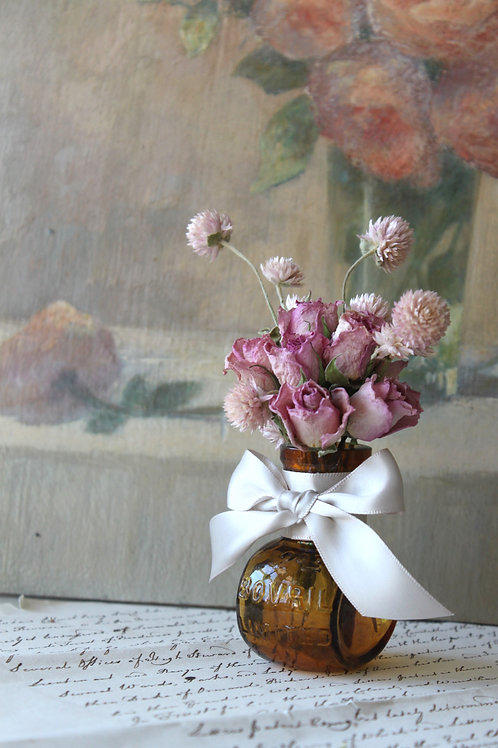 Rose and Clover Jar