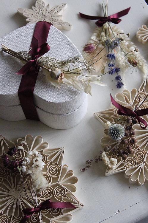 Floral Gift Topper Set