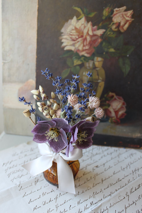 Miniature Purple Hellebore Jar