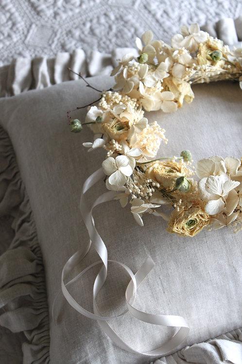 Ranunculus & Hydrangea Wreath