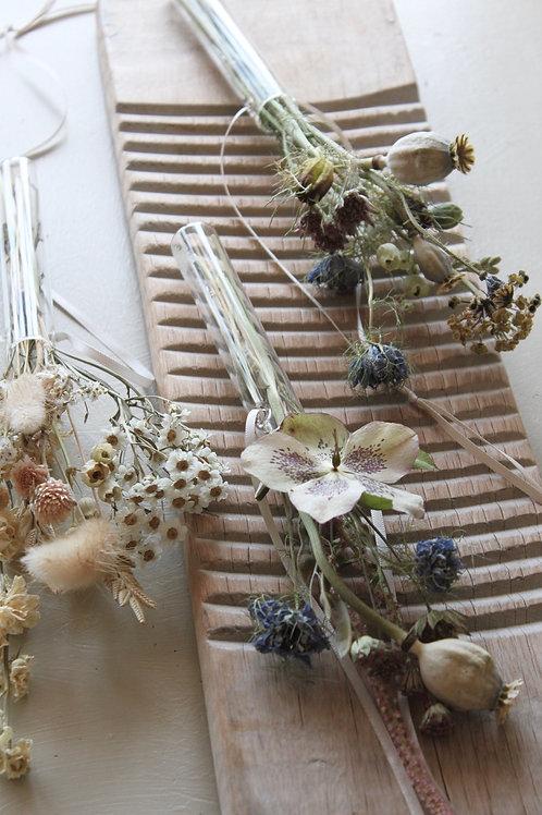 Floral Hanging Vase with Posie (Single)