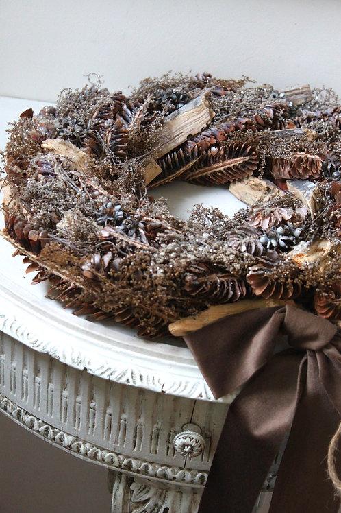 Winters Morning Christmas Wreath