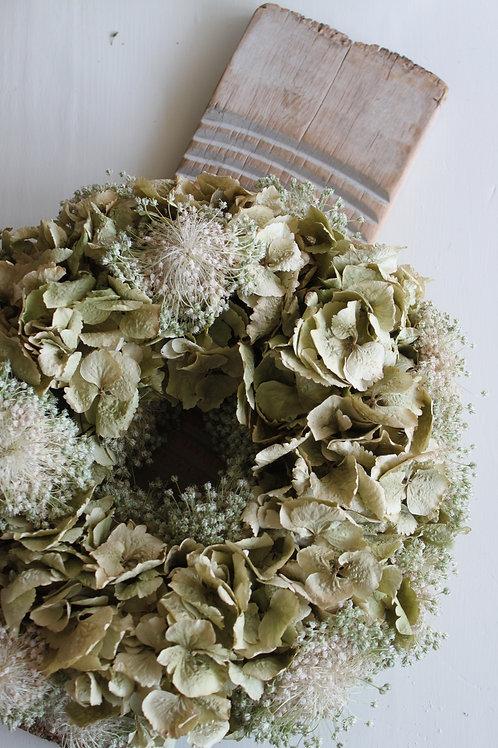 Hydrangea & Alliums (Soft Green)