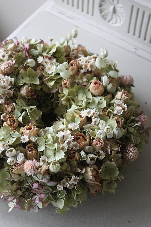 Vintage Roses & Hydrangea Bloomer