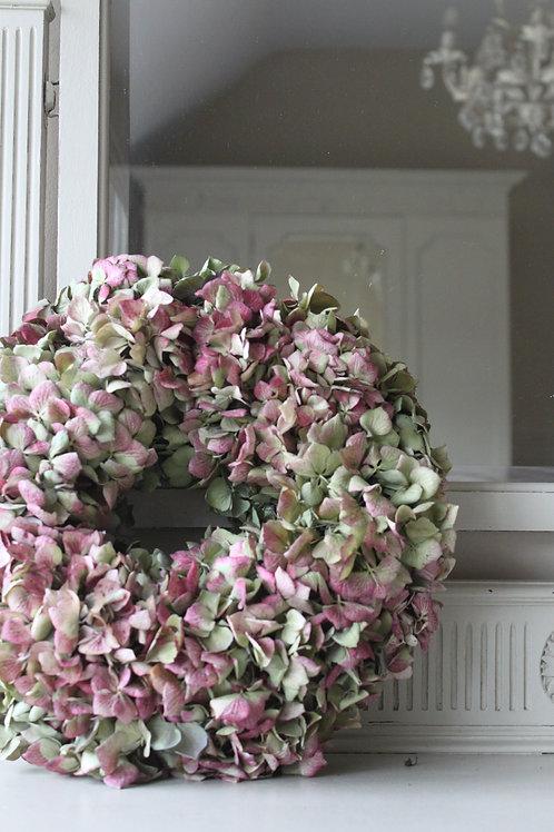 Green & Mauve Hydrangea Bloomer (Medium)