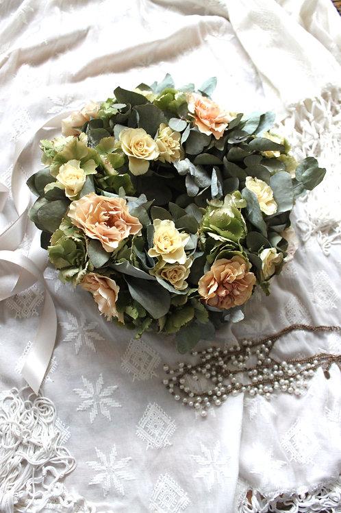 Peach Cream Roses