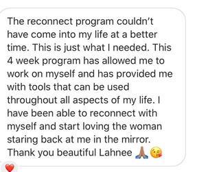 Female Reconnect client